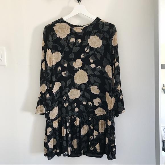 7d1214508f0c Ganni Dresses   Carlton Ruffle Hem Dress 36   Poshmark